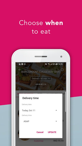 foodpanda - Local Food & Grocery Delivery 3 تصوير الشاشة