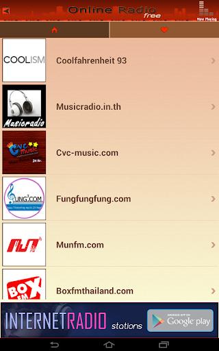 Online Radio Free screenshot 4