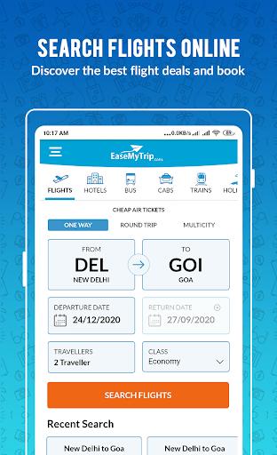 EaseMyTrip – Cheap Flights, Hotels, Bus & Holidays 2 تصوير الشاشة