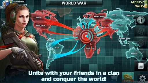 Art of War 3: PvP RTS modern warfare strategy game screenshot 8