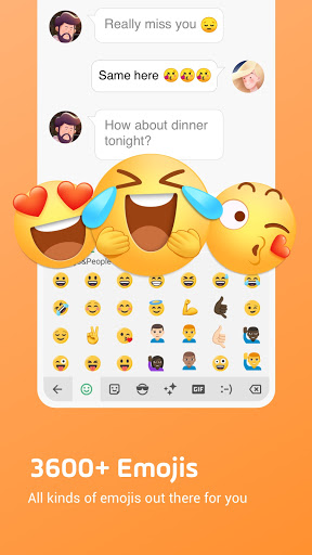 Facemoji Emoji Keyboard:Emoji Keyboard,Theme,Font screenshot 2