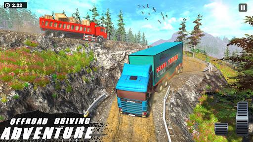Offroad Indian Truck Driver:3D Truck Driving Games screenshot 2