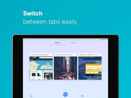 Opera browser with free VPN screenshot 20