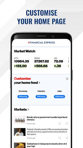 Financial Express - Latest Market News   ePaper screenshot 3