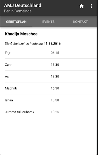 AMJ Deutschland screenshot 1