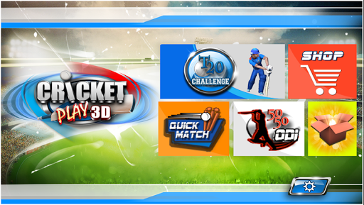 Cricket Play 3D: Live The Game screenshot 2