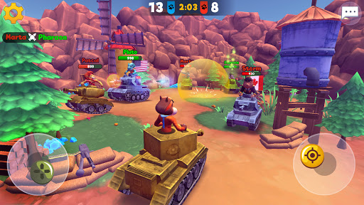 Zoo Games War: Battle Royale online 5 تصوير الشاشة