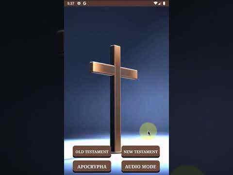 Audio Bible (KJV) screenshot 1
