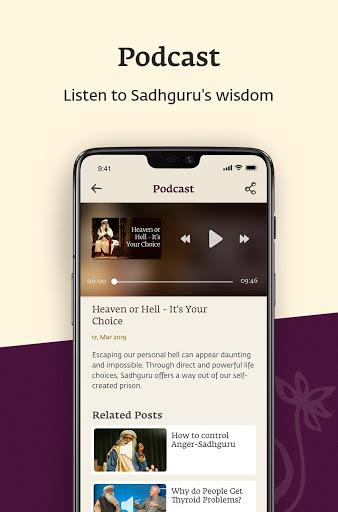 Sadhguru - Yoga, Meditation & Spirituality 4 تصوير الشاشة