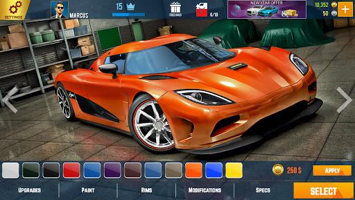 سيارة سباق الفن مسبقا سباقات السيارات العاب مجانية 3 تصوير الشاشة