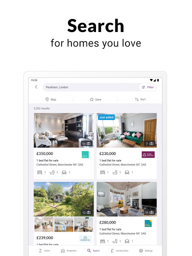 Zoopla property search UK Homes to buy and rent screenshot 8