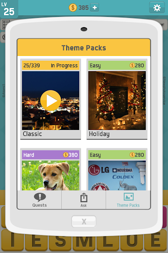 بكتوورد: ألعاب كلمات ممتعة، لعبة كلمات للدماغ 10 تصوير الشاشة