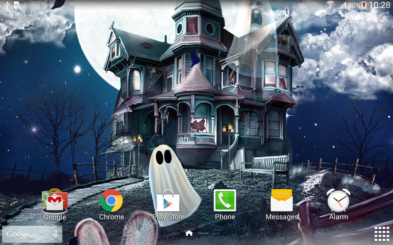 Halloween Live Wallpaper screenshot 8