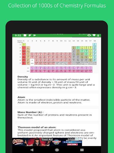All Formulas - Math, Physics & Chemistry 10 تصوير الشاشة