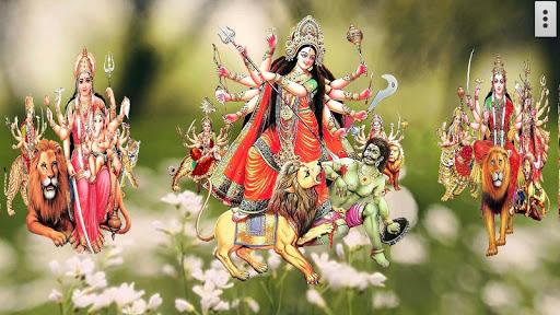 4D Maa Durga Live Wallpaper 3 تصوير الشاشة