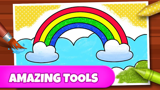 Coloring Games: Coloring Book, Painting, Glow Draw screenshot 3
