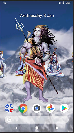 4D Shiva Live Wallpaper 6 تصوير الشاشة