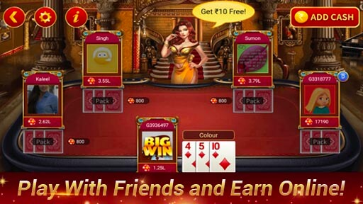 TeenPatti Sher - 2021 Newest 3patti Online स्क्रीनशॉट 4