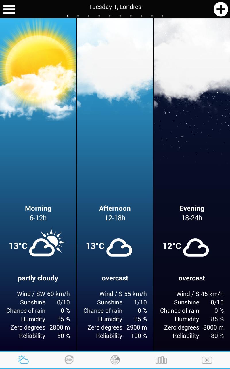 Weather for the Netherlands 10 تصوير الشاشة