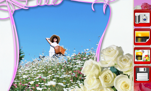 Flowers Photo Frames скриншот 1