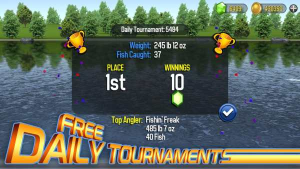 Master Bass Angler: Free Fishing Game screenshot 5