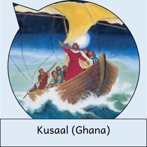 Comic Yesu Onɛ An Mazaya La (Kusaal (Ghana)) أيقونة