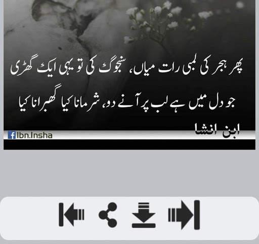Ibn e Insha Shayari screenshot 3