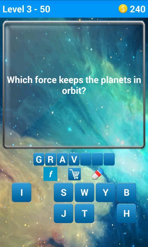 Space Quiz screenshot 3