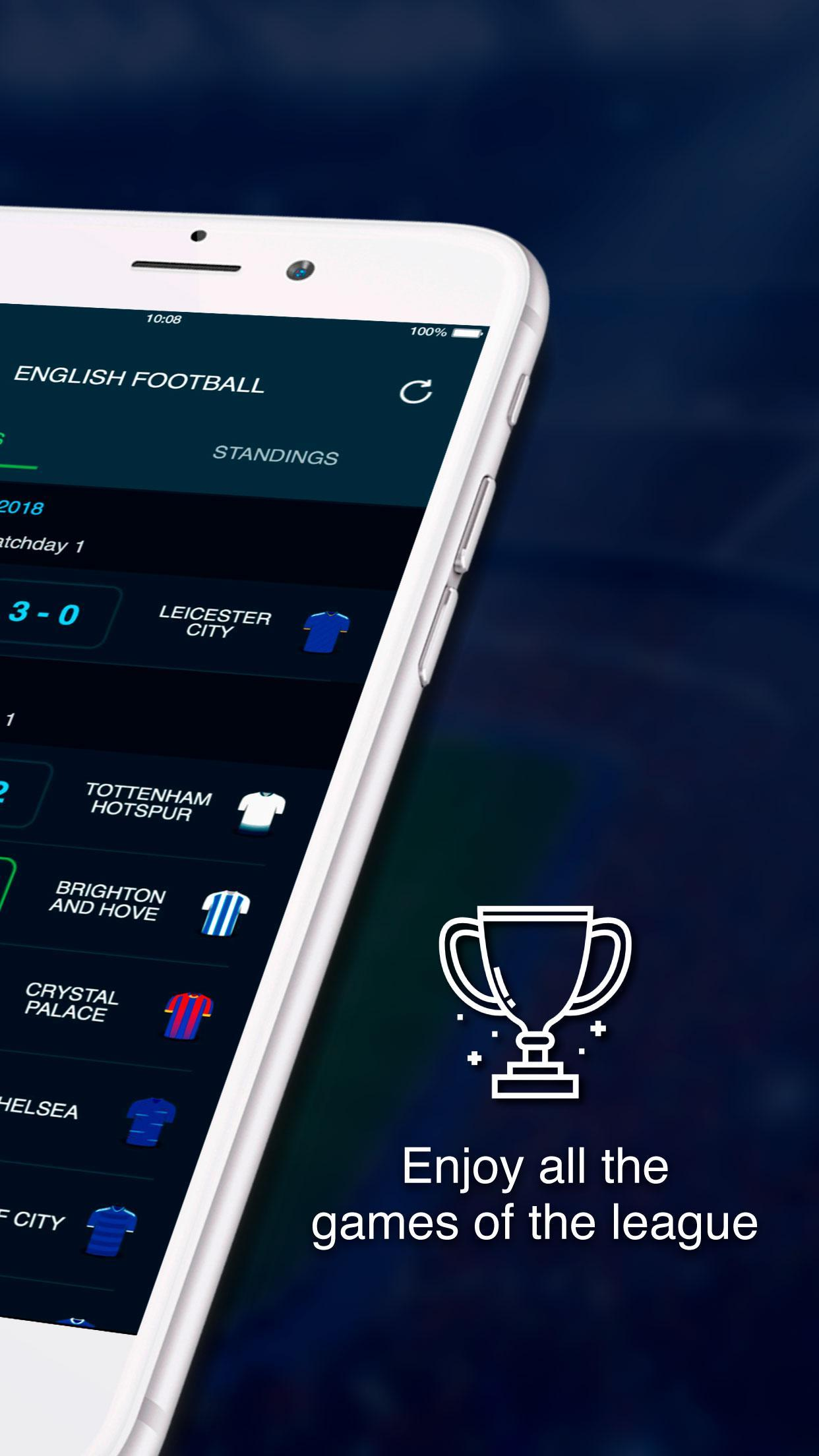 English Football Scores 2 تصوير الشاشة