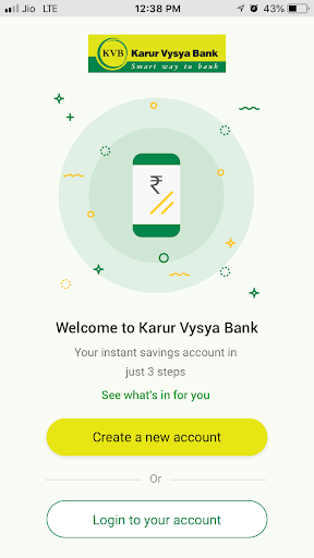 KVB - DLite & Mobile Banking screenshot 1