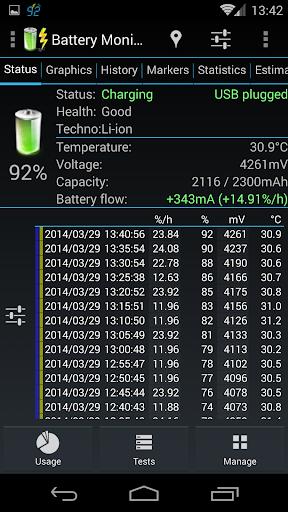 3C Battery Manager 3 تصوير الشاشة