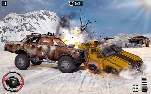 Furious Car Shooting Game: Snow Car war Games 2021 screenshot 21