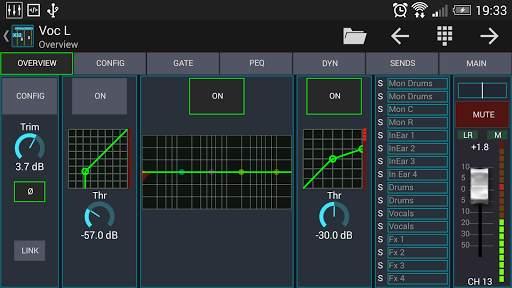Mixing Station XM32 screenshot 4