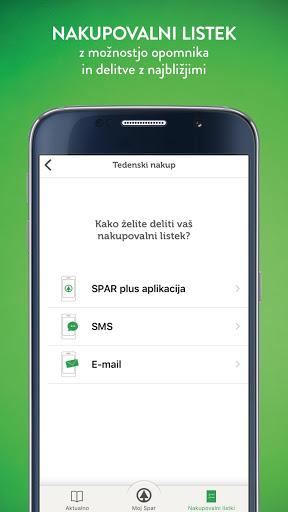 SPAR plus screenshot 2