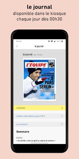 L'Équipe - Sport en direct : foot, tennis, rugby.. screenshot 5