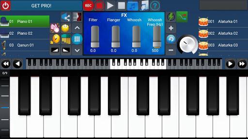 Portable ORG Keyboard 8 تصوير الشاشة
