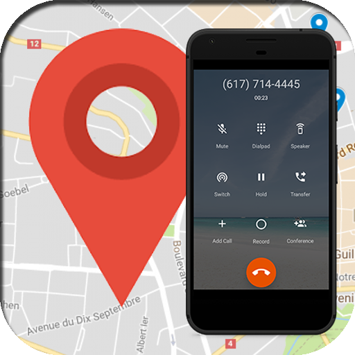 Mobile Location Number & Call Blocker icon