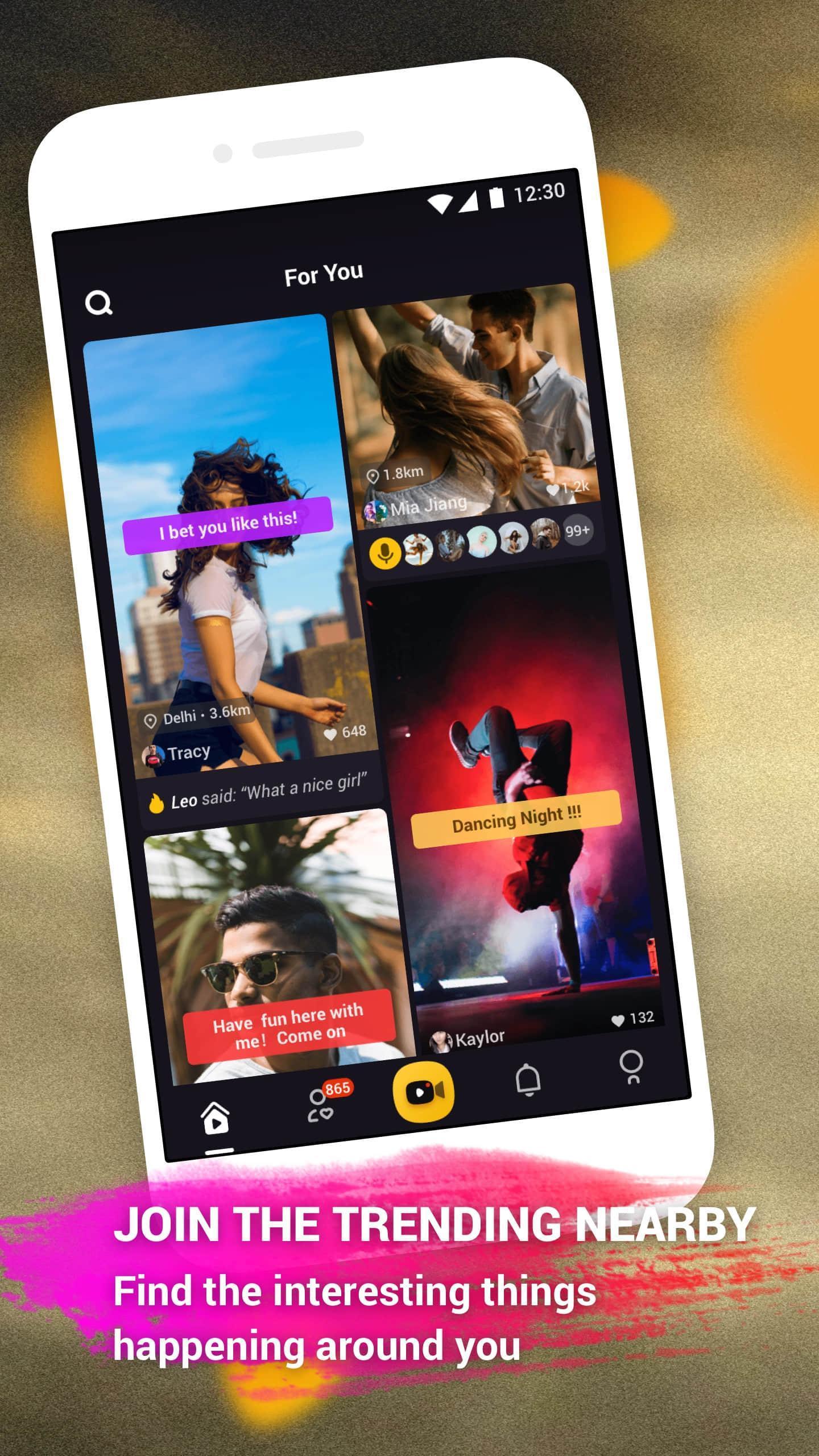 togetU – Funny Video Maker, Video Status Community 1 تصوير الشاشة