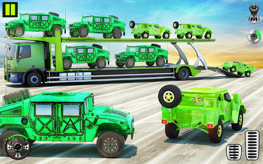 US Army Transporter Plane - Car Transporter Games screenshot 5
