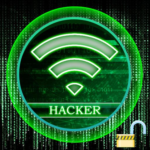 Wifi Password Hacker Prank أيقونة