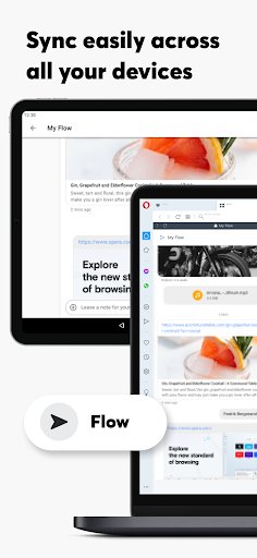 Opera Browser: Fast & Private screenshot 13