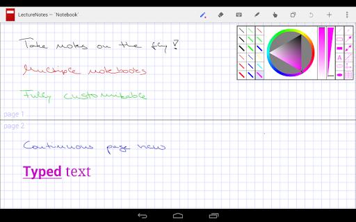 LectureNotes (Trial Version) screenshot 8