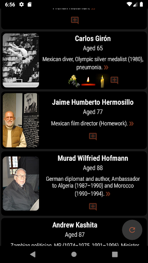 Who Has Died Recently? Celebrity & Notable Deaths screenshot 1