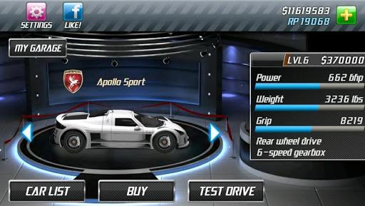 Drag Racing 6 تصوير الشاشة