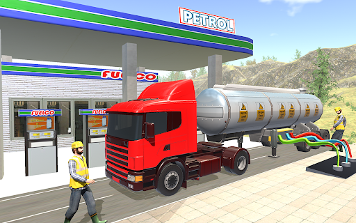Oil Tanker Truck Driver 3D - Free Truck Games 2020 screenshot 4