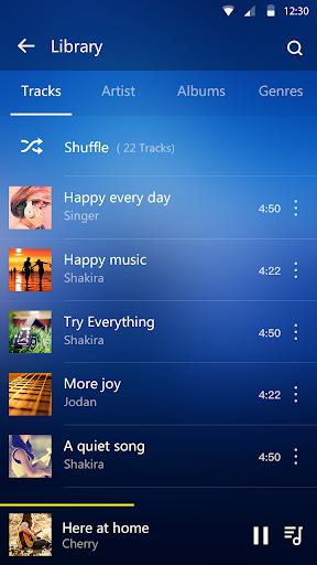 Музыкальный проигрыватель - Аудиоплеер скриншот 2