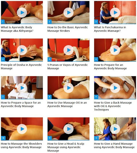 Ayurvedic Body Massage Guide 1 تصوير الشاشة
