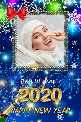 2021 New Year Photo Frames Greeting Wishes screenshot 10