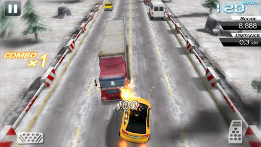 Mini Crazy Traffic Highway Race screenshot 10
