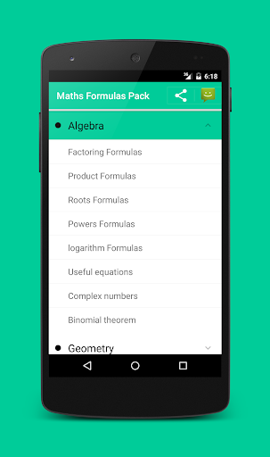 All Math formula screenshot 2
